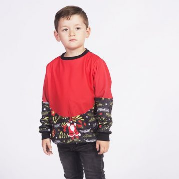 Christmas Santa Abeto Sweatshirt for Kids