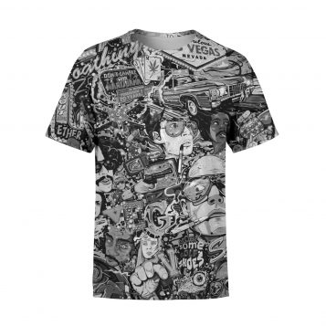 Fear and Loathing Mono T-Shirt