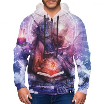Perhaps The Dreams Are Of Soulmates Zip-Up Hoodie