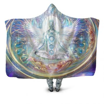 Center of the Universe Hooded Blanket