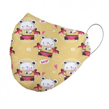 Bear Neoprene Children's Face Mask
