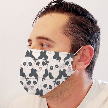 Neoprene Panda Face Mask
