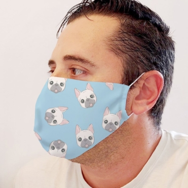 Neoprene Puppies Face Mask