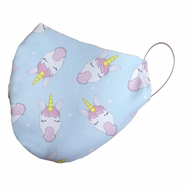 Neoprene Unicorns Face Mask