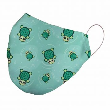 Neoprene Turtles Face Mask