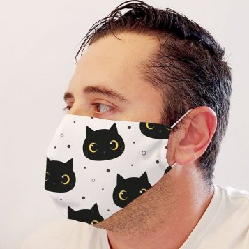 Neoprene Cats Face Mask