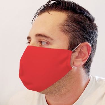Neoprene Red Face Mask