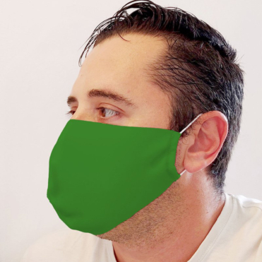 Neoprene Green Face Mask