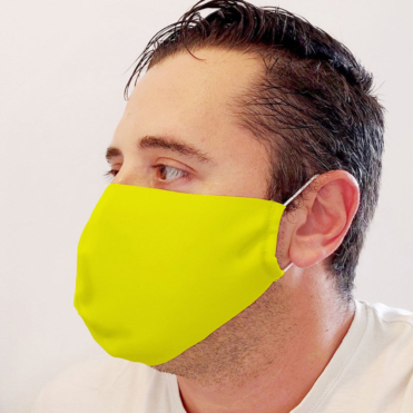 Neoprene Yelow Face Mask