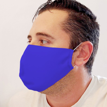 Neoprene Blue Face Mask