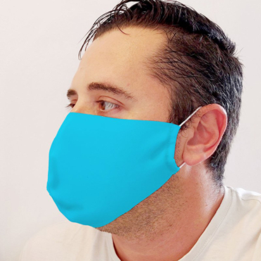 Neoprene Light Blue Face Mask (Copy)