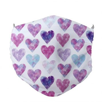 Face Mask Anti Dust Hearts