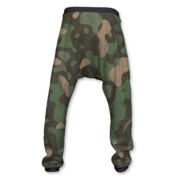 Good Vibes Camouflage Pant